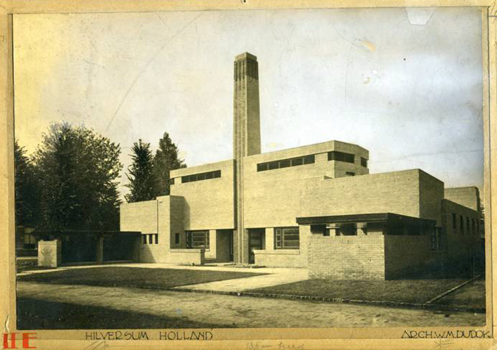 Municipal Baths in Hilversum (1920), Willem Marinus Dudok
