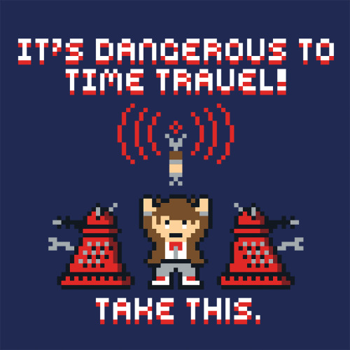 gamefreaksnz:  Time Travel by Baz on sale 5/20 Artist: Redbubble | Tumblr