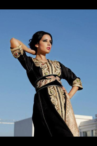 Black Kaftan, so glamour