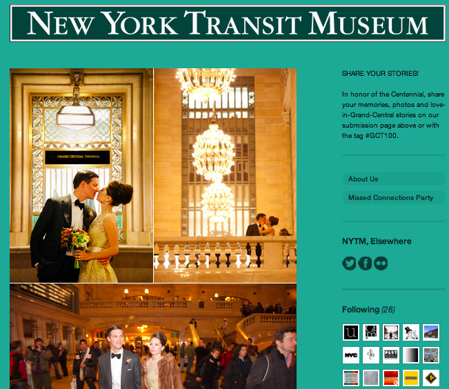 The New York Transit Museum is now on Tumblr. And for their big Grand Central Centennial celebration they are asking you to share your Grand Central Memories.