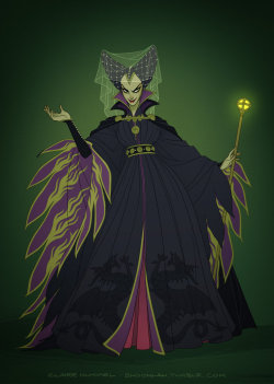 AMAZING take on the beautiful Maleficent by Shoomlah