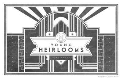 Our pals, Young Heirlooms, just released their first full-length album at Motr Pub in Cincinnati this past Friday, along with this exclusive print designed by yours truly! It was a huge day for them, and we're thrilled to have gotten to share visions. If you chase what you love, great things will happen. Promise.