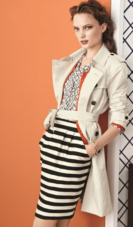I love everything about this outfit from Banana Republic.