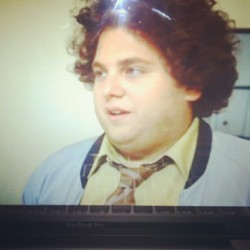 Love this guy and his curly hair. #jonahhill