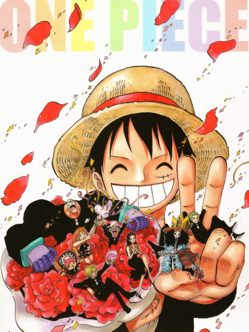 rima-77:  Cover of Shueisha Cosmic News. One Piece: 300 million copies in print.
