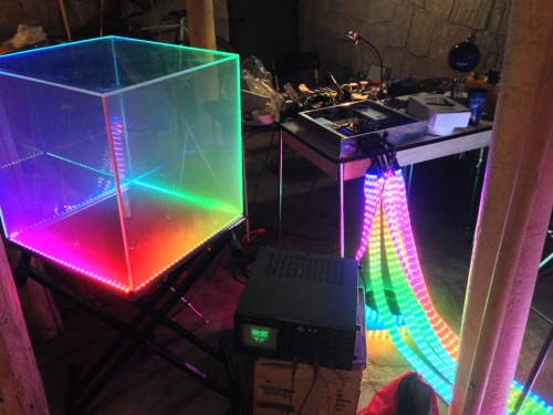 anamanaguchi:  zacharyp-james:  Anamanaguchi lights (via 4chan Q&A)  GONNA B SO PRETTTTYYY  sooooo stoked see you sunday BBs