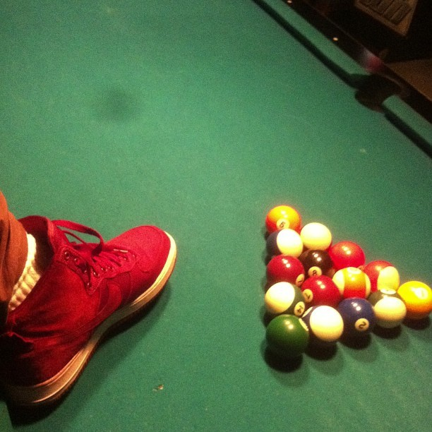 Kicks : $30 Mastering the art of Billiards: Priceless