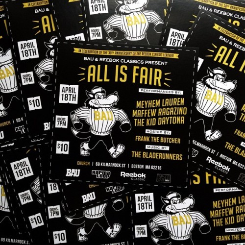 All Is Fair. 4/18