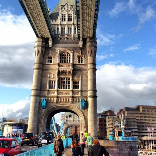 @london Tower Bridge #citylife #workarea #towerbridge #london_only #nofilter #iphone5  (at Tower Bridge)