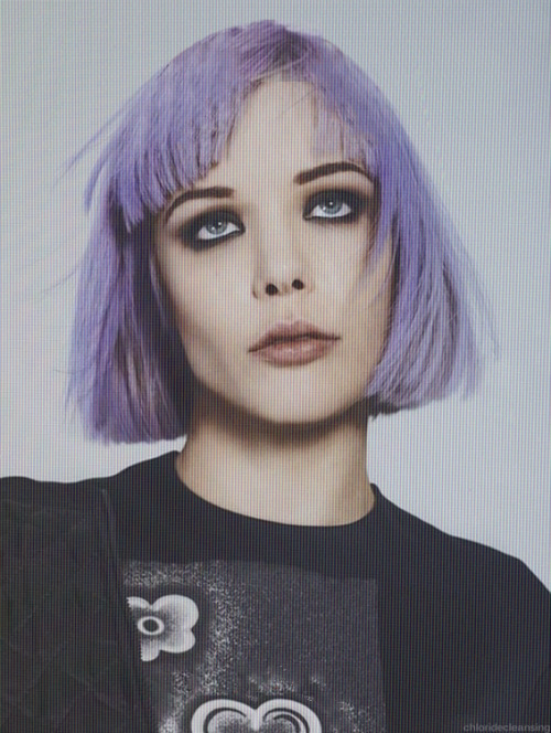 chloridecleansing:   Alice Glass for PULP Magazine