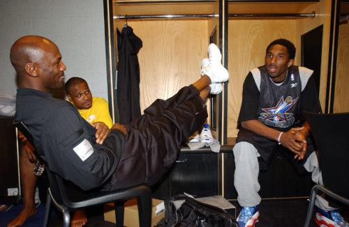 Kobe Bryant michael jordan antoine walker nba all star NBA Fashion LeBron James