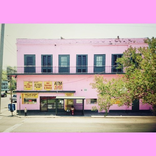 #PINK son   #road #drive #architecture #art #building #house #store #food #photo #nola #neworleans