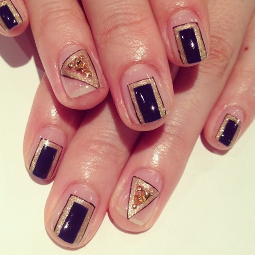 Square Art Nails #avarice #art #design #kayo