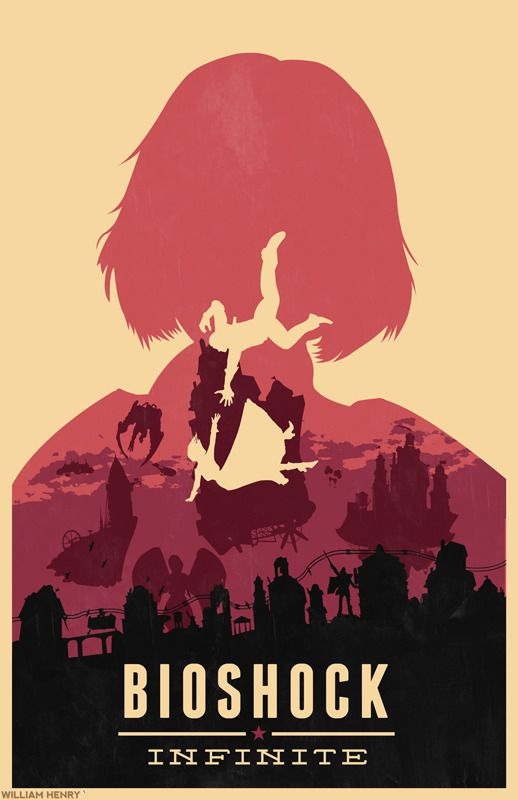 Bioshock Infinite Elizabeth poster by William Henry Prints available on Etsy at https://www.etsy.com/listing/129418304/bioshock-infinite-elizabeth-poster Goes perfectly with my Booker Dewitt Bioshock Infinite poster, https://www.etsy.com/listing/129418161/bioshock-infinite-poster ——— View my portfolio at http://www.williamhenrydesign.com. Please get in touch. I would love to work together on a project. You can also follow me on Twitter at http://www.twitter.com/billpyle and on Facebook at http://www.facebook.com/williamhenrydesign.