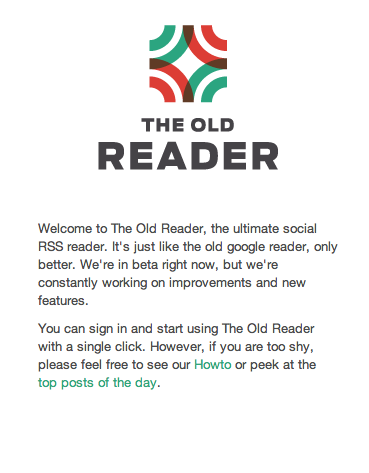 The Old Reader: A Google Reader Alternative