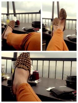 enjoy the view wih my fav shoes