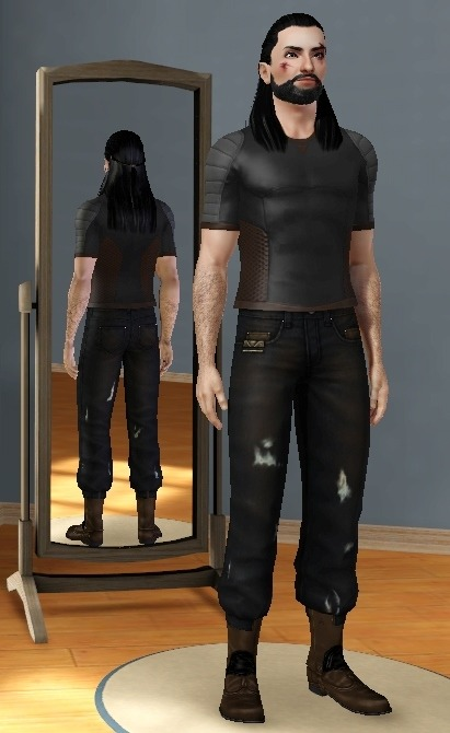Thorin Oakenshield - Sims3 VersionHe isn't nearly perfect, but was fun to make :D