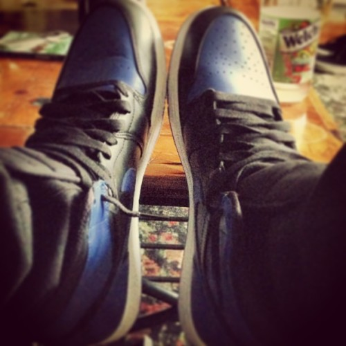 Kicks leave you #Black and #Blue