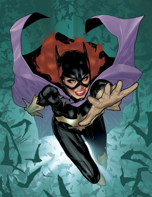 whoismistere:  Batgirl Cover No 1 by *AdamHughes