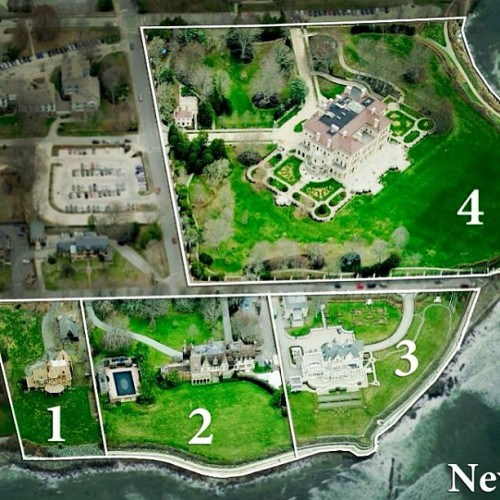 Which Newport, RI mansion would you choose? #newport #rhodeisland #ri #architect #architecture #design #mansion #luxury #lush #style #detail #money #rich