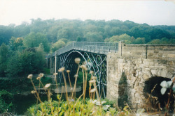relented:  Iron Bridge by helen-butler on Flickr.