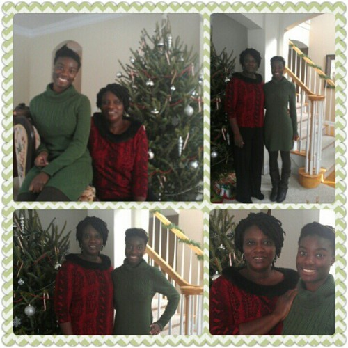 Merry Christmas from the Alabi women!