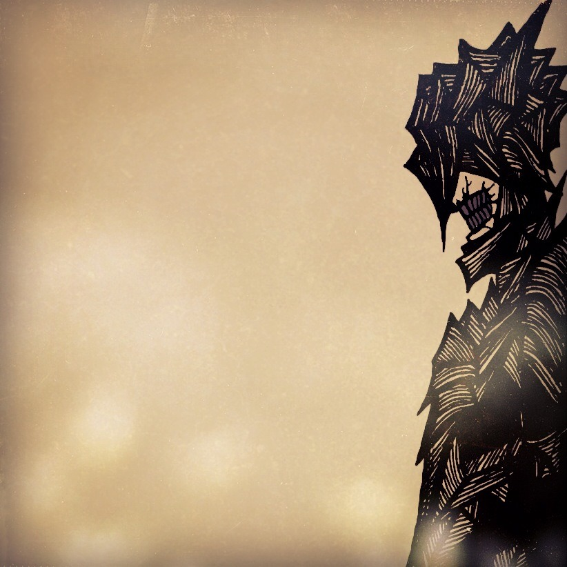 Here, have a Mouth of Sauron edit while I continue to make myself cross-eyed using a million tiny ink lines and dots…