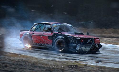 Drift Volvo Tumblr