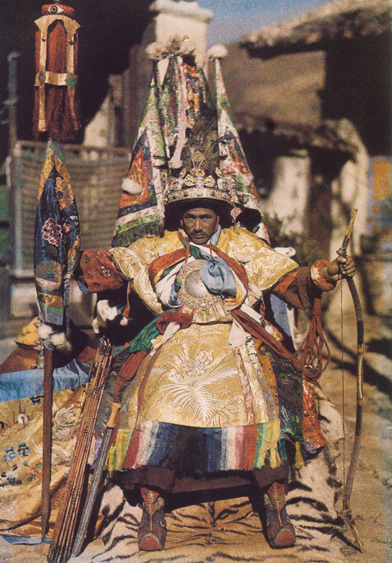 kicker-of-elves:  Tibetan lama       National Geographic 1935        Joseph F Rock