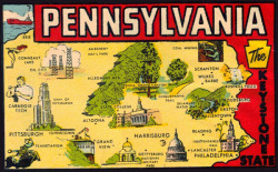 rogerwilkerson:  Pennsylvania… the Keystone State.