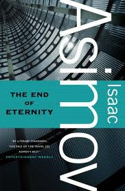 "Monty Reads: The End of Eternity by Isaac Asimov   First of all, I'm a terrible SF fan because I'd never read any Asimov before yesterday. I have over the last year collected a whole pile of novels and theory based around the philosophy of time and time travel. I chose to read this one this week because I'm trying to find books that involve time travel but focus on the individual's experience, rather than causality and getting bogged down in the science of it all.   So, The End of Eternity. It's a good book. It was easy to read, and I don't know if it's just because I'm super smart, but even the ideas of an alternate existence alongside Time (the Eternity bit) and the multiple Realities are quite easy to follow.   The protagonist, Andrew Harlan, is fairly boring, but the events which surround him and influence his actions are the interesting bit. Basically this dude is a ""Technician"", in charge of observing Reality and making small changes in order to make the future more beneficial. It's a very ""for the greater good"" idea, where a select group of people are responsible for choosing which direction humanity should go. Harlan falls in love and in trying to save her, goes breaking a kazillion laws including travelling to the forbidden ""Hidden Centuries"".  It then gets a bit more into the beefy time circles and determinism and paradoxy ideas.   Overall, I liked it, it was fun, and I may well mention it in my thesis."