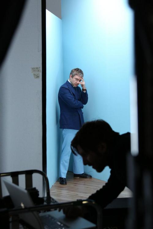 meowmeowpurring:   behind the scenes at holborn studios with #martinfreeman twitter.com/steviebphotos/… — Stephen Butler (@steviebphotos) May 13, 2013