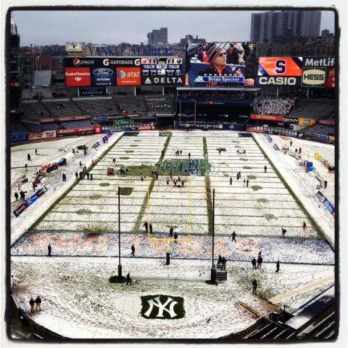 @ChrisVaccaro: @YankeeStadium for the Pinstripe Bowl