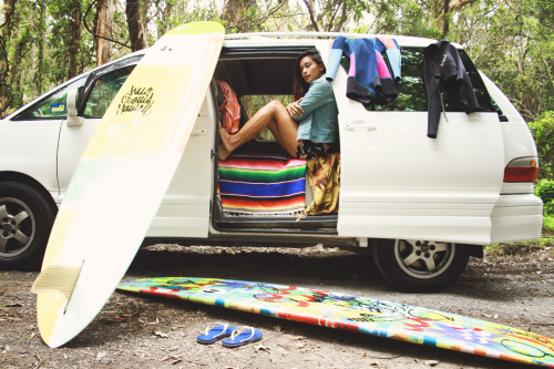 brooklynhawaii:  SURF, TAN, LIVE IN A VAN