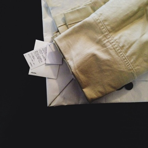 New Visvim High Water Chinos