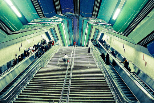 Tajrish subway station  by gollpar on Flickr.