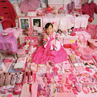 "Image: ""Yerim and Her Pink Things"" fromThe Pink & Blue Project (2005) by JeongMee Yoon Ernesto Pujol (MFA AP Faculty) is speaking at ""Gender Play,"" a two-day conference at Parsons that is focused on ""exploring and exposing the issues of gender as they impact and influence the production of art and design."" The conference begins today, March 28th."