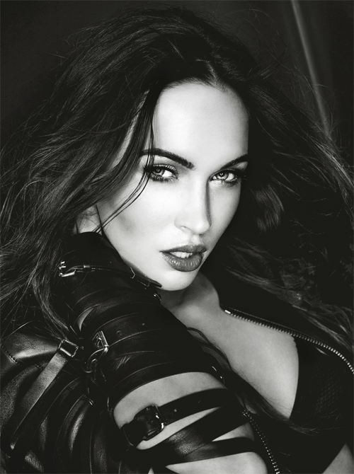 Megan Fox for Esquire Magazine. February 2013.