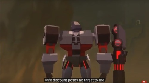 he's talking about bumblebee, by the way—————————————————————————–tfw you walk into target with the gf and they're having a sale #transformers#transformers cyberverse#tf cyberverse#tfcv#megatron#submission
