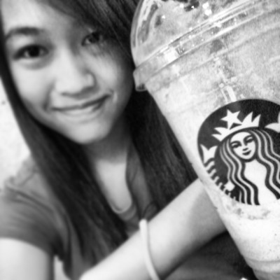 @ abreeza a while ago, chillin at starbucks. :)