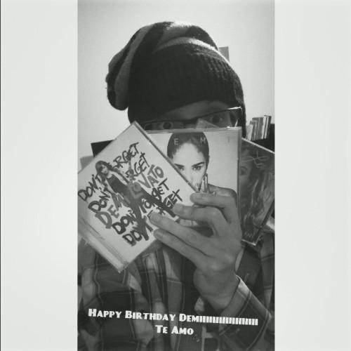 Happy Birthday to youHappy birthday to youHappy birthday to youHappy birthday to you Demii @ddlovato Happy birthday 🎂 to you #votedemi #happybirthday #demi #lovato