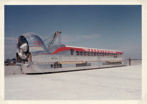 The Bertin  I80 Aérotrain, c1970. via