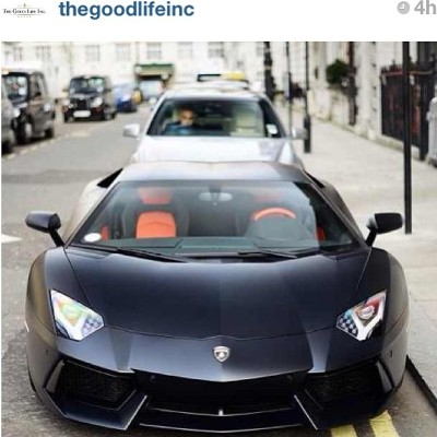 """The Good Life""Repost via @thegoodlifeinc #exotic #Lamborghini #cars #inspiration"