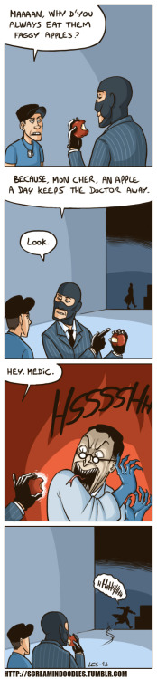 screamindoodles:  *MEDIC SHRIEK*