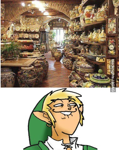 9gag:  Looks like this store is in trouble