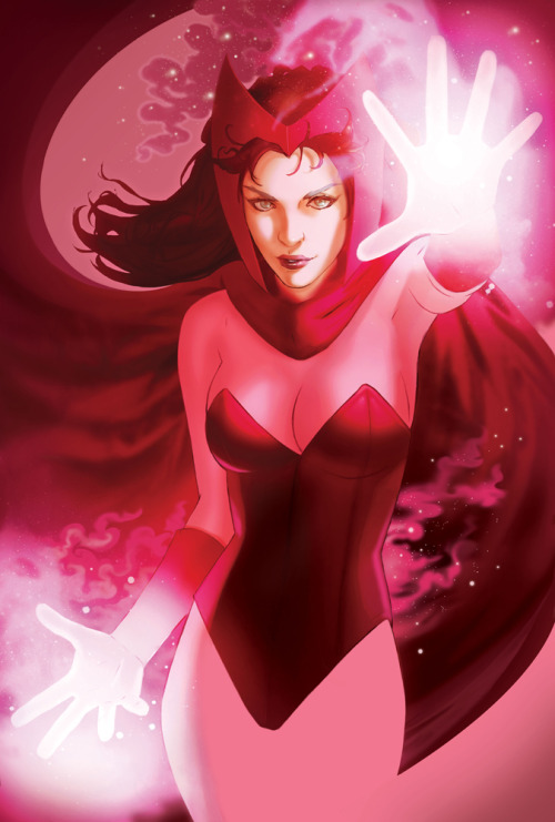 superspacechick:  Scarlet Witch by Scott Forbes
