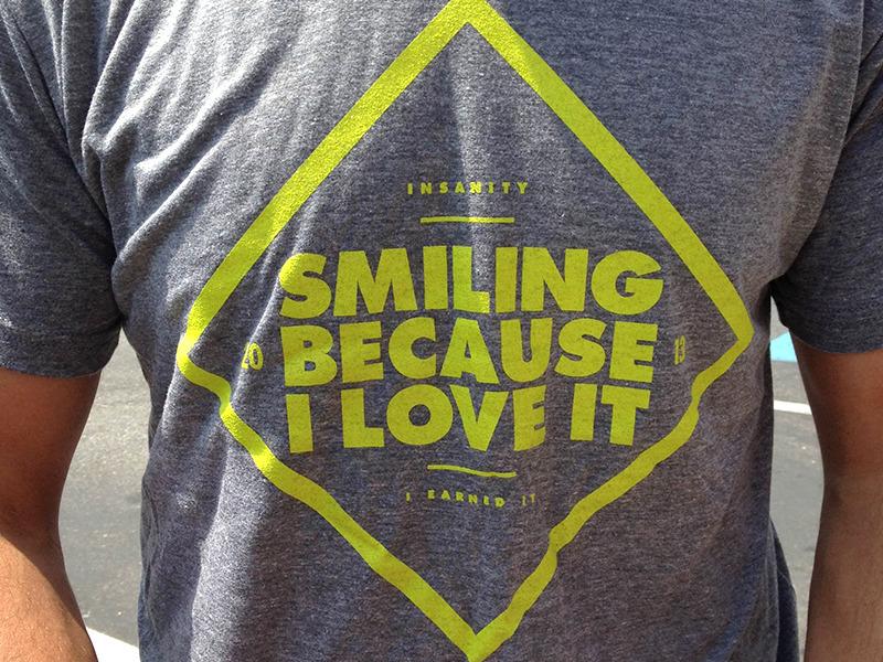 Smiling Because I Love It  byDave Keller