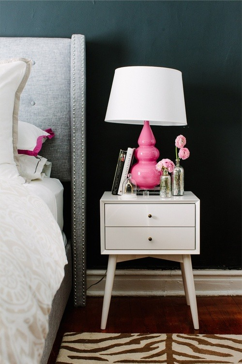 PINK BY THE BEDSIDE!