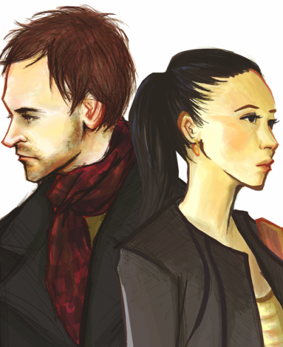 bakerstreetbabes:  ignify:  holmes and watson pieces side-by-side as requested by anon :) thanks!  Lovely!