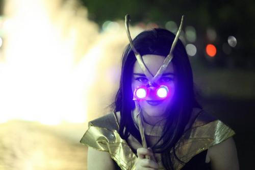 necroticnymph:  Loki - Power of the Tesseract Costume - NecroticNymph Design by ToughTink Photo by David Hennis